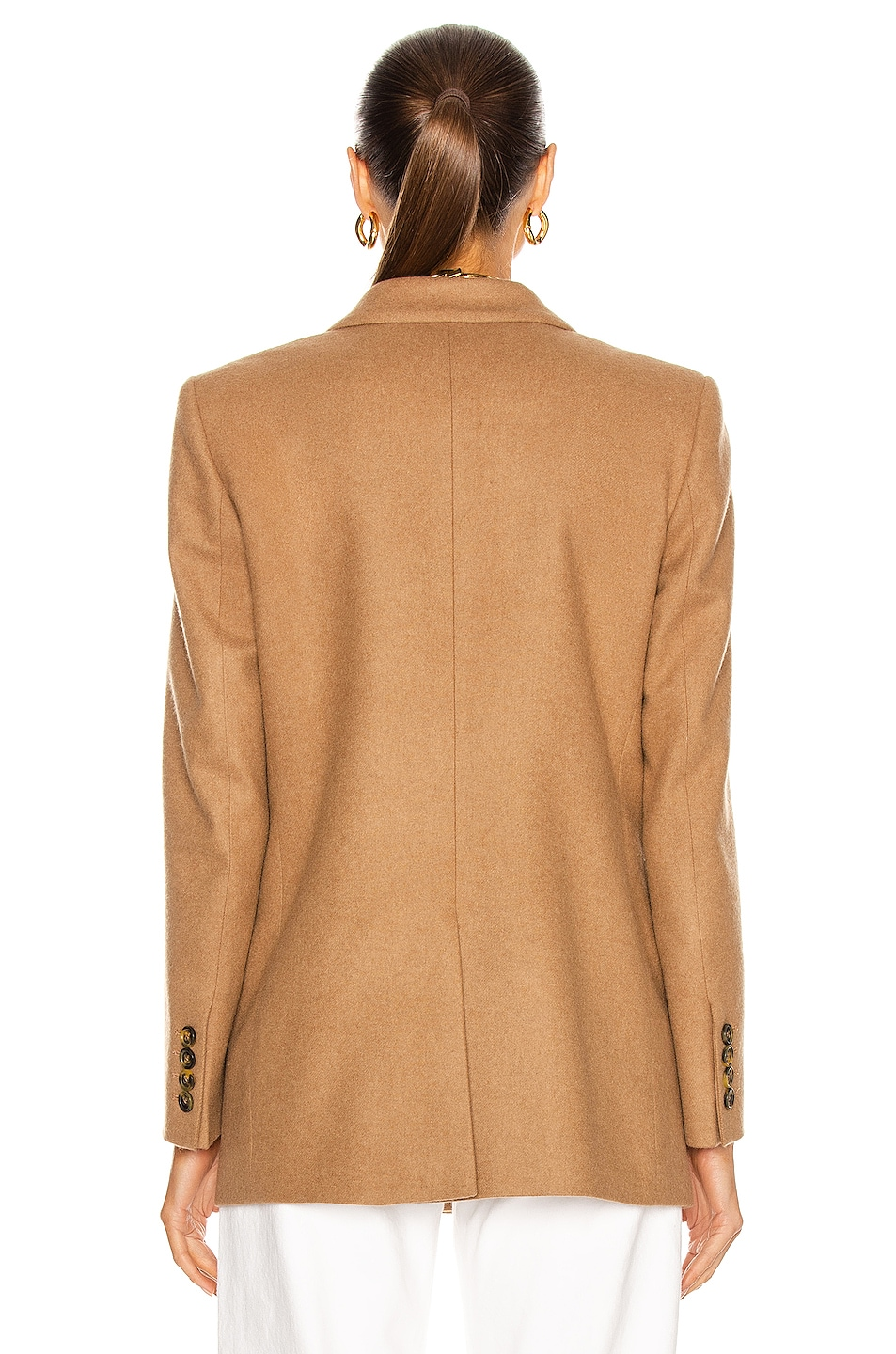 Image 4 of Blaze Milano Essential Cholita Everyday Blazer in Camel