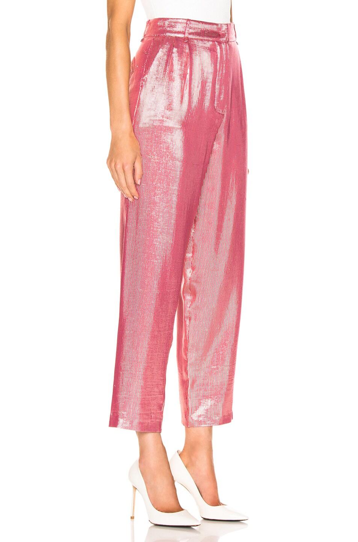 Image 2 of Blaze Milano Diva Royal Trouser in Pink