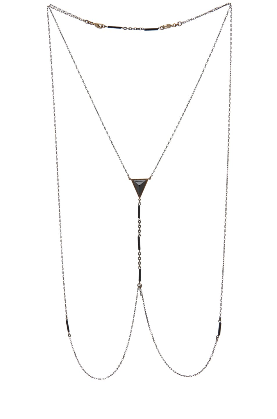 Image 1 of Bliss Lau Dark Lady Body Chain in Brass