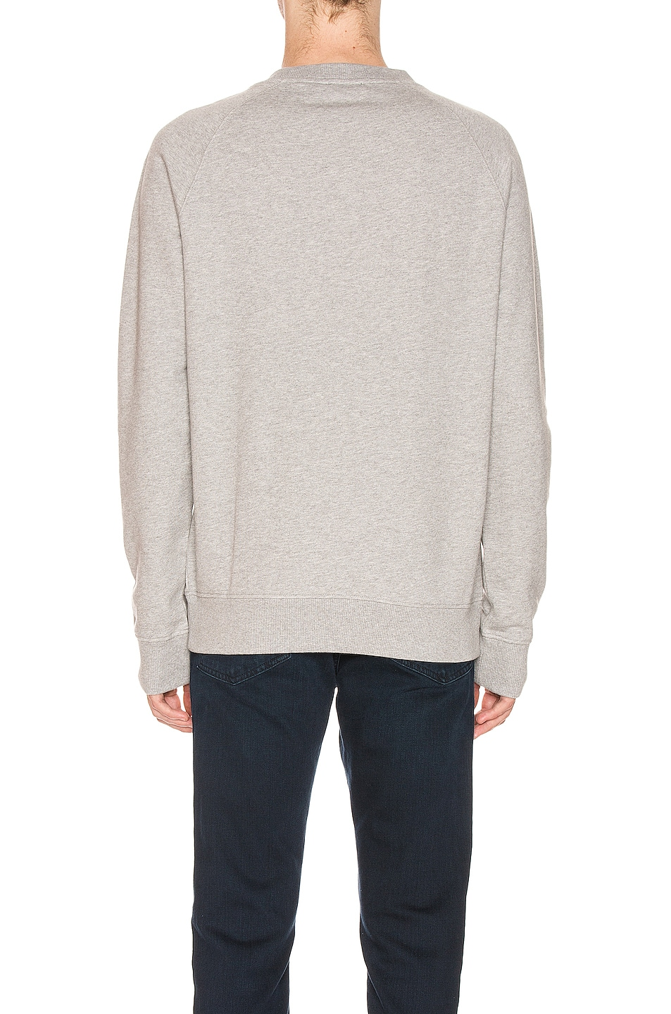 Image 3 of BALMAIN Logo Sweatshirt in Grey