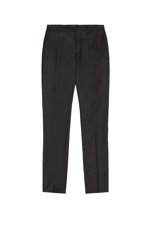 Image 1 of BALMAIN Tailoring Fit Wool Pant in Noir