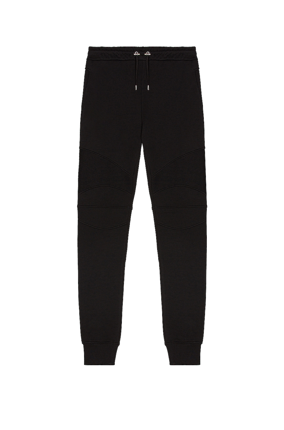 Image 1 of BALMAIN Flock Sweatpants in Black