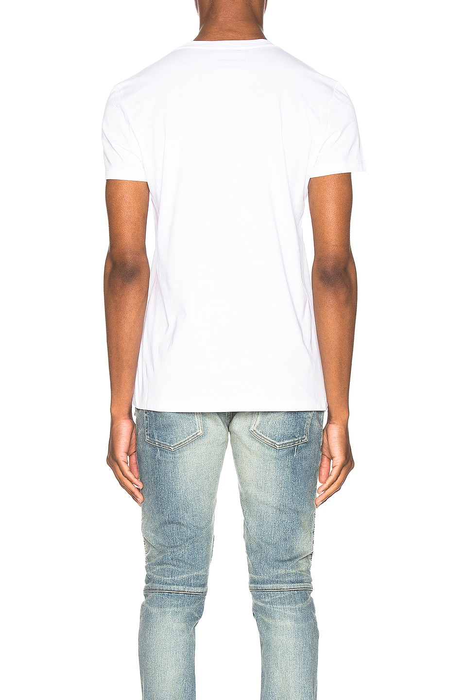 Image 3 of BALMAIN Signature T-Shirt in Blanc