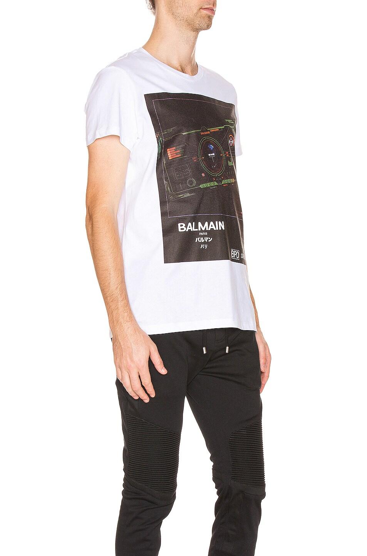 Image 2 of BALMAIN Printed Tee in Multi