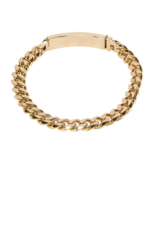 Image 2 of BALMAIN Logo Chain Choker in Gold