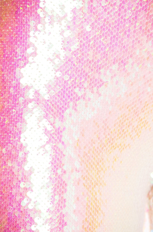 Image 6 of BALMAIN Sequin Leggings in Mother of Pearl