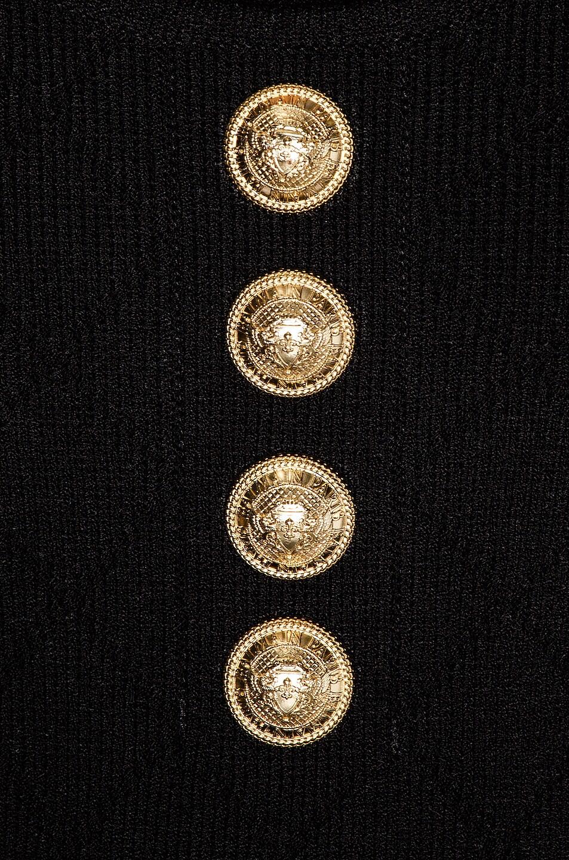 Image 6 of BALMAIN Diamond Strap Bodysuit in Black