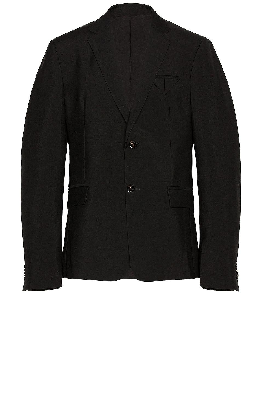 Image 1 of Bottega Veneta Travel Wool Blazer in Black