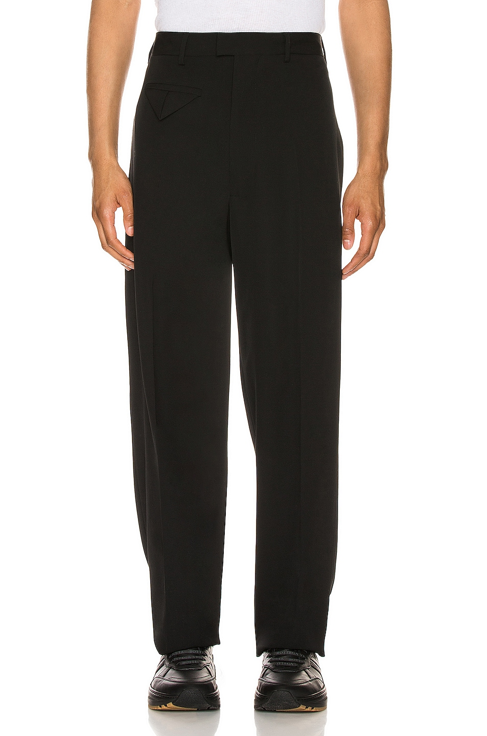 Image 1 of Bottega Veneta Trousers in Nero