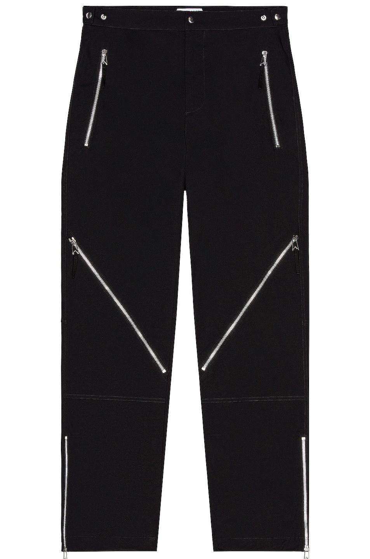 Image 1 of Bottega Veneta Light Cotton Canvas Trouser in Black