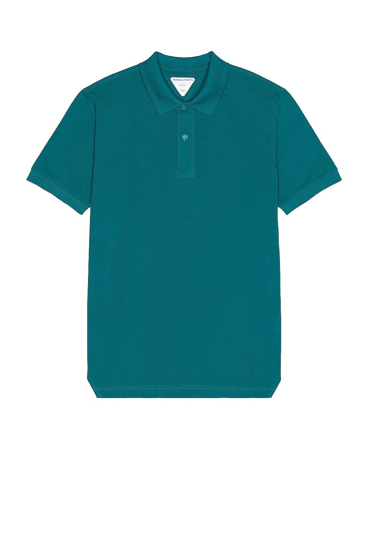 Image 1 of Bottega Veneta Polo in Duck Green