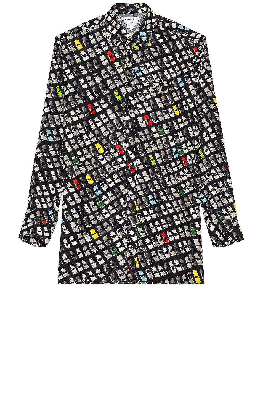Image 1 of Bottega Veneta Photographic Car Print Shirt in Multi