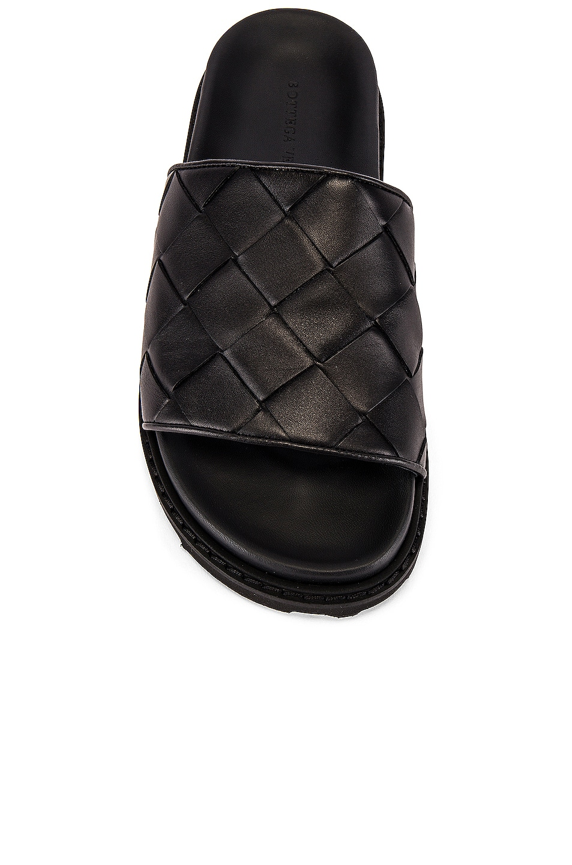 Image 4 of Bottega Veneta Speedster Slide in Black