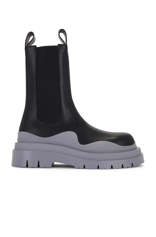 Image 1 of Bottega Veneta Tire Boot in Black