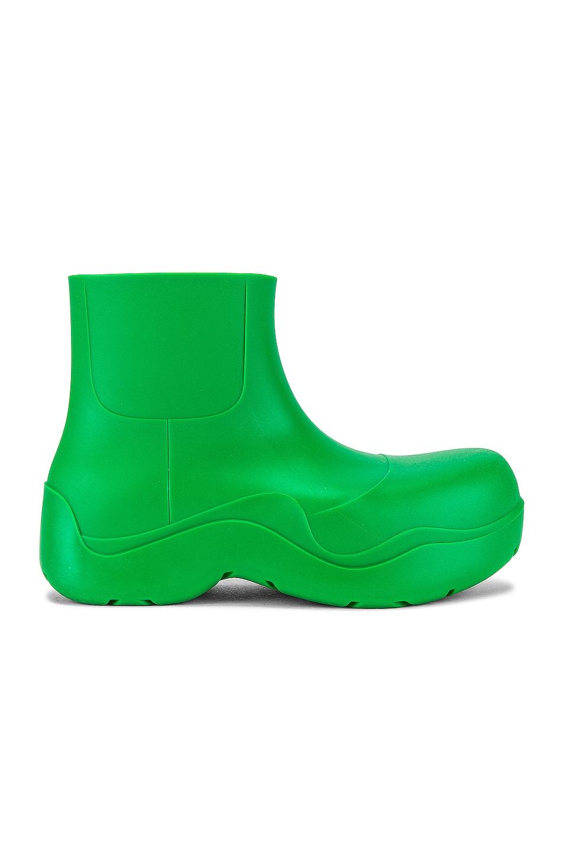 Image 1 of Bottega Veneta Puddle Boot in Grass