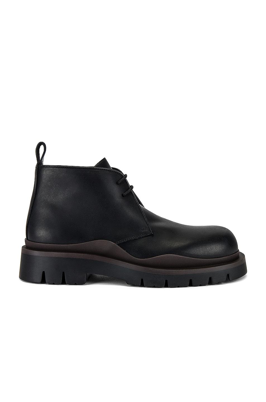 Image 1 of Bottega Veneta The Tire Boot in Black