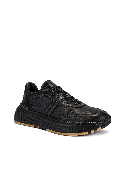 Image 1 of Bottega Veneta Speedster Sneaker in Black