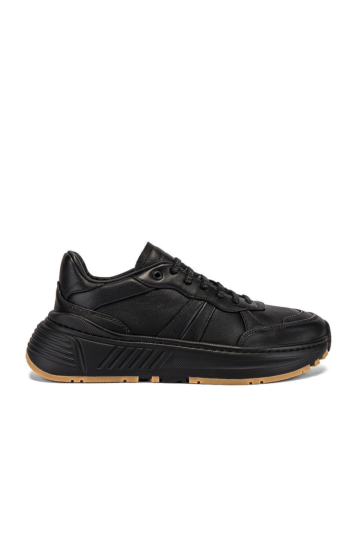 Image 2 of Bottega Veneta Speedster Sneaker in Black