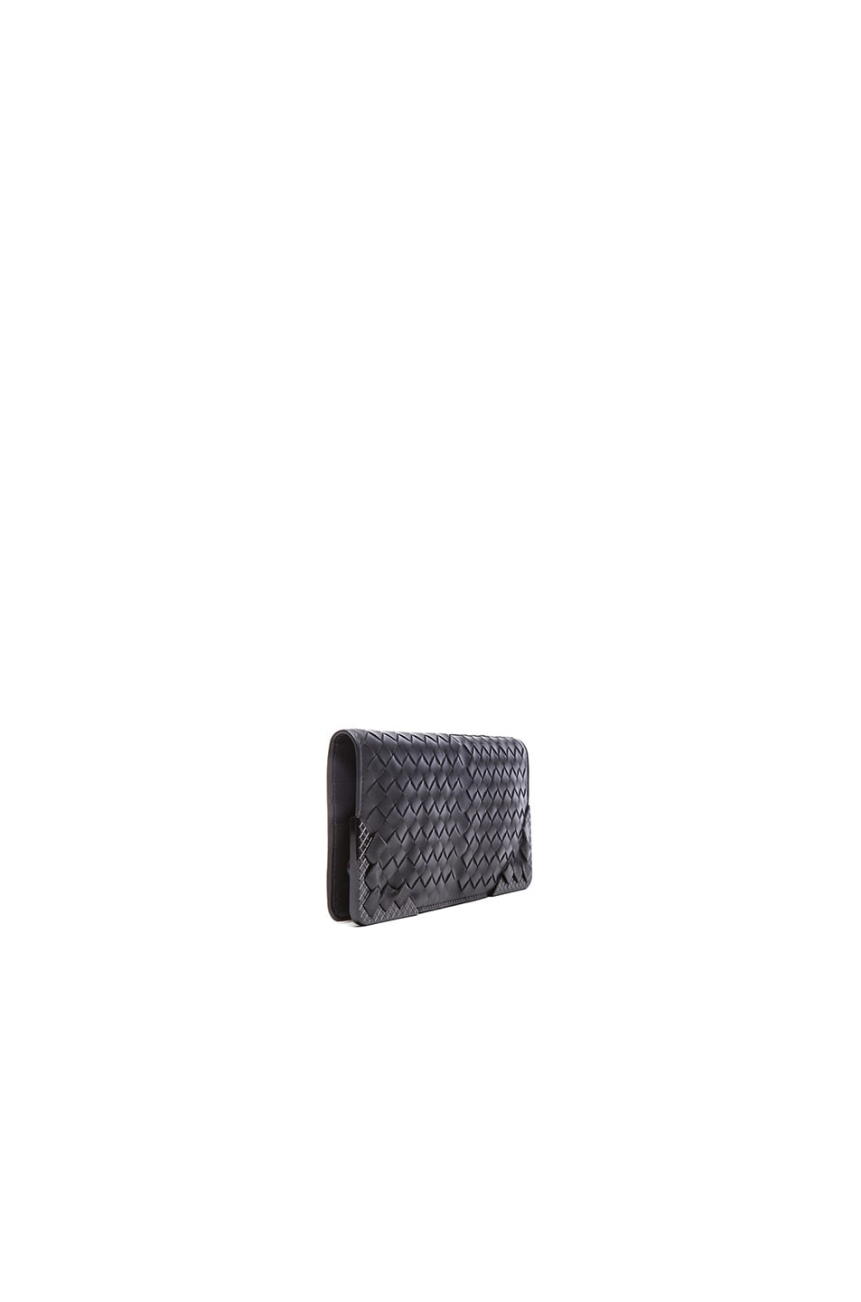 Image 3 of Bottega Veneta Flat Wallet in Black