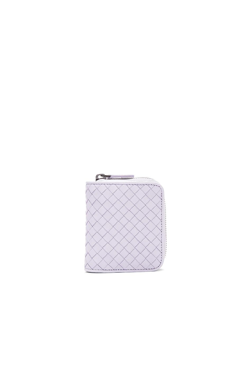 Image 1 of Bottega Veneta Small Wallet in Oyster