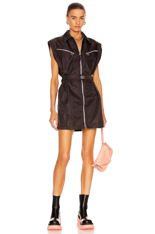 Image 1 of Bottega Veneta Nylon Dress in Fondant