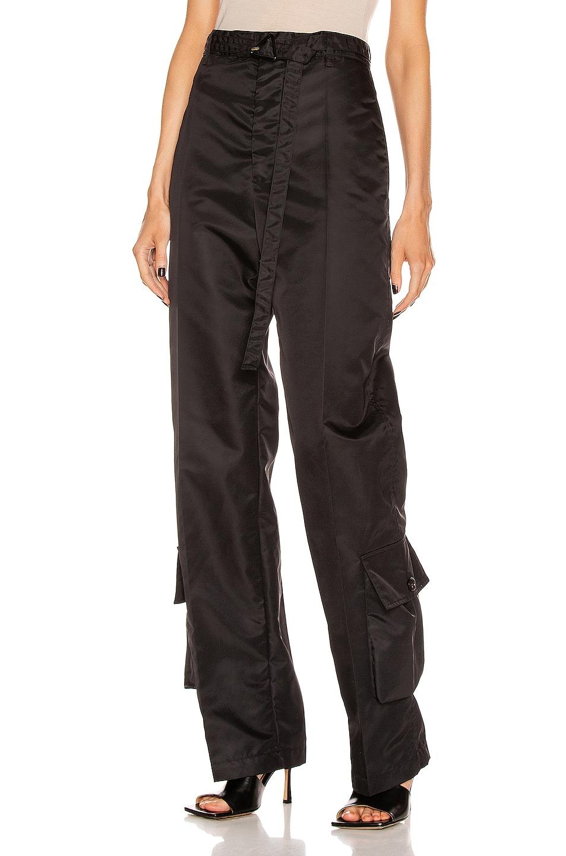 Image 1 of Bottega Veneta Nylon Pant in Black