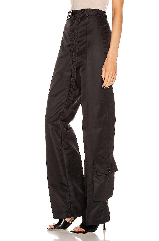 Image 3 of Bottega Veneta Nylon Pant in Black