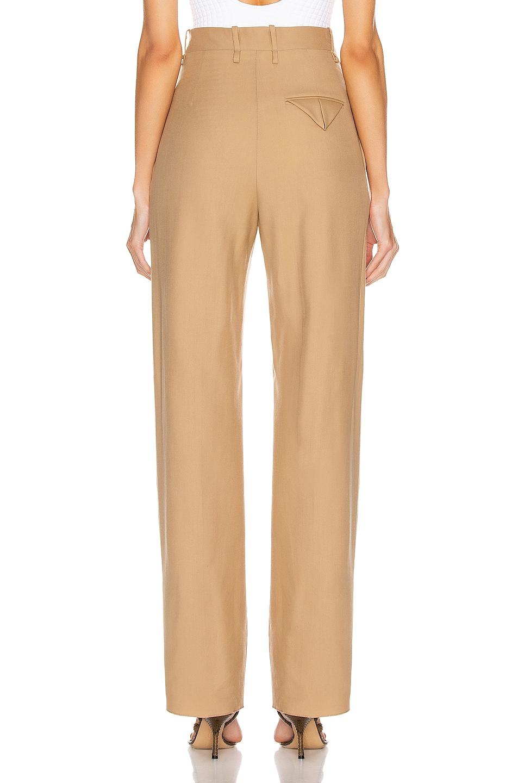 Image 3 of Bottega Veneta Tailored Pant in Camel