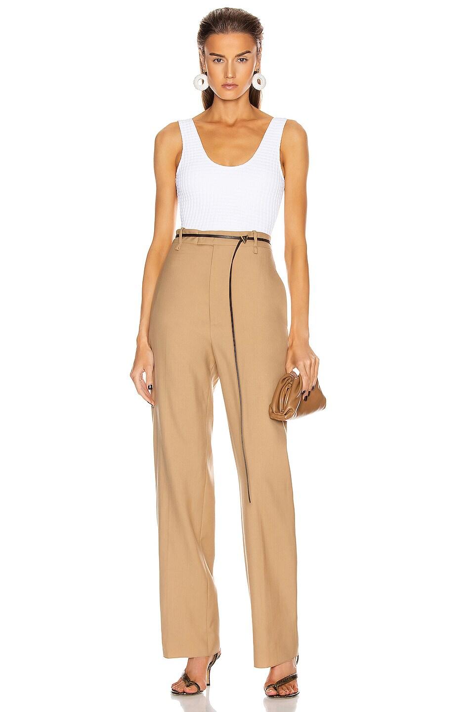 Image 4 of Bottega Veneta Tailored Pant in Camel