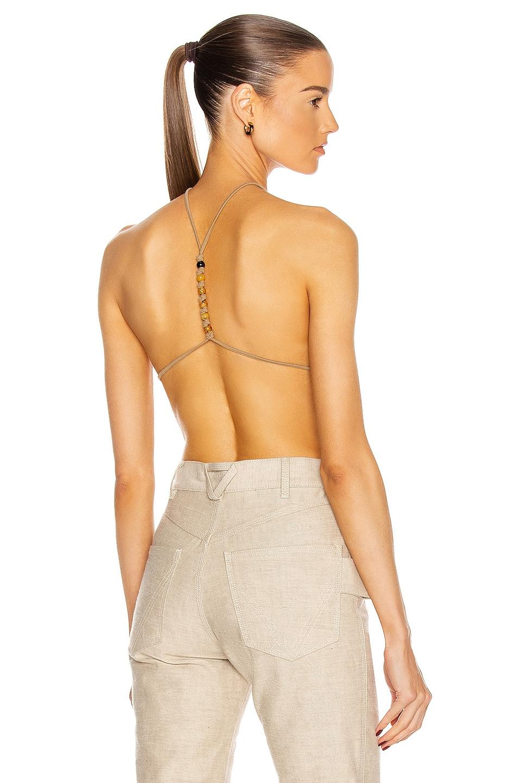 Image 1 of Bottega Veneta Off Gauge Cashmere Bodysuit in Beige
