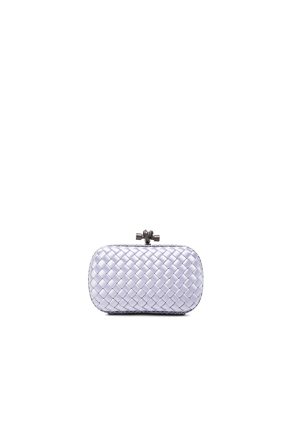Image 1 of Bottega Veneta Knot Clutch in Oyster