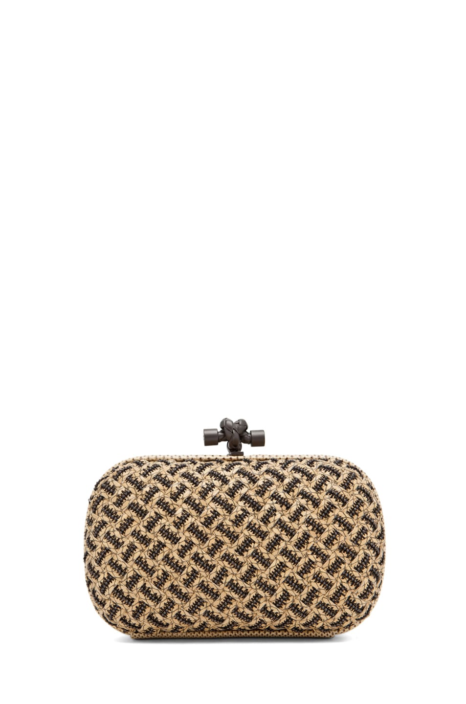 Image 1 of Bottega Veneta Box Clutch in Natural
