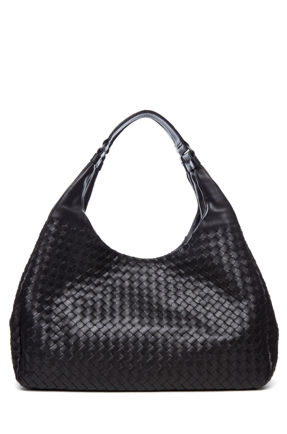 Image 1 of Bottega Veneta Large Campana Hobo in Black