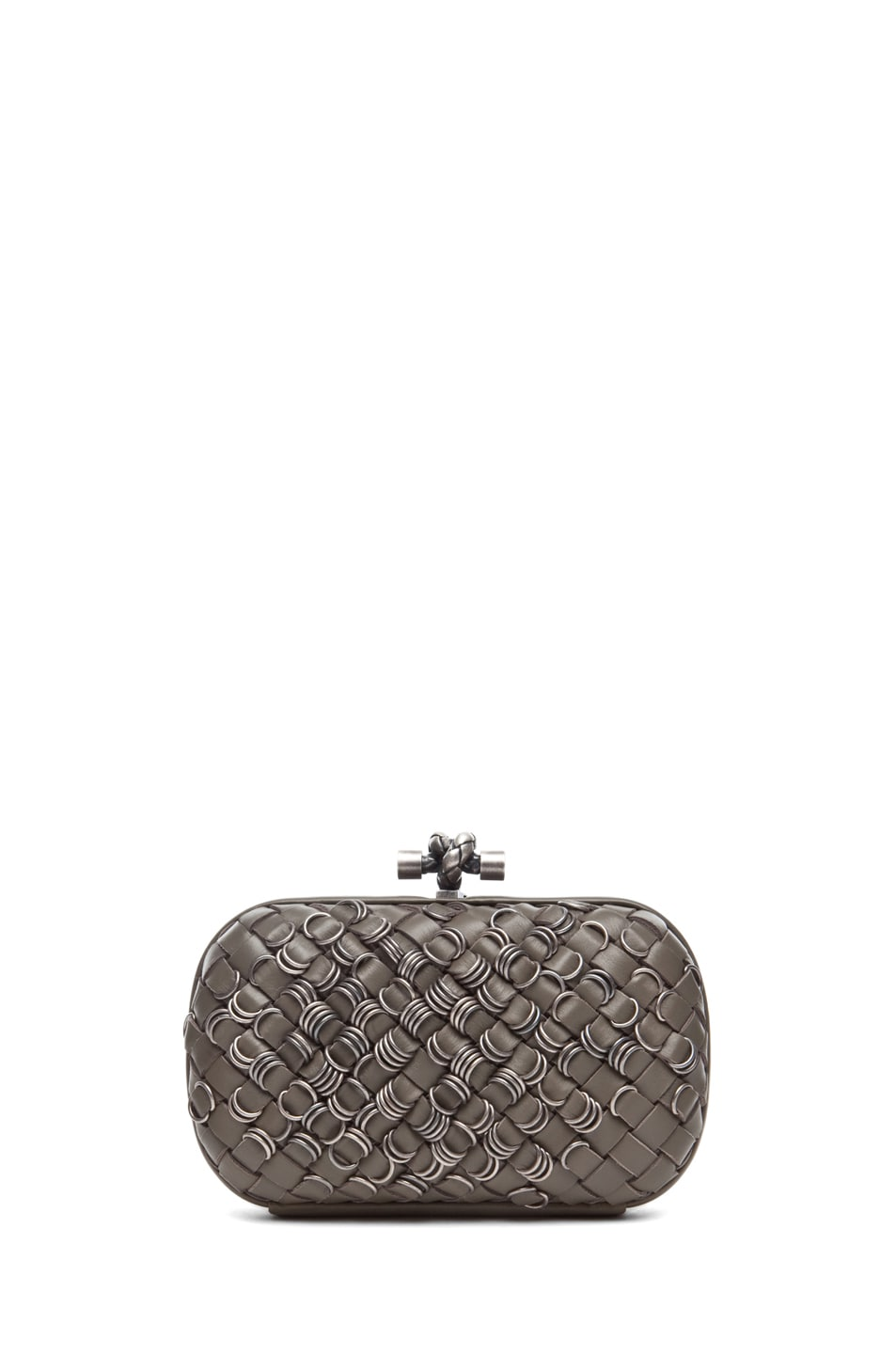 Image 1 of Bottega Veneta Mini Clutch in Shadow