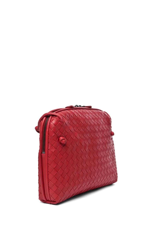 Image 3 of Bottega Veneta Small Messenger Bag in Blood