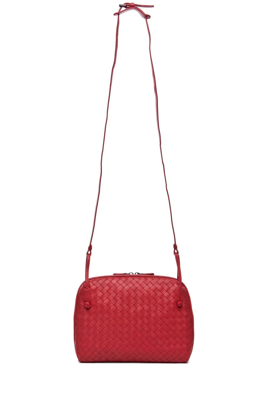 Image 5 of Bottega Veneta Small Messenger Bag in Blood