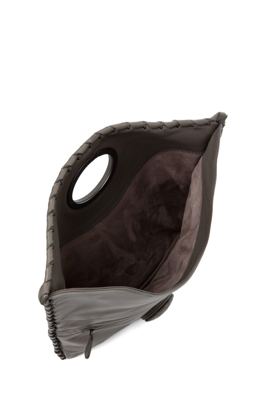 Image 5 of Bottega Veneta Small Clutch in Grey