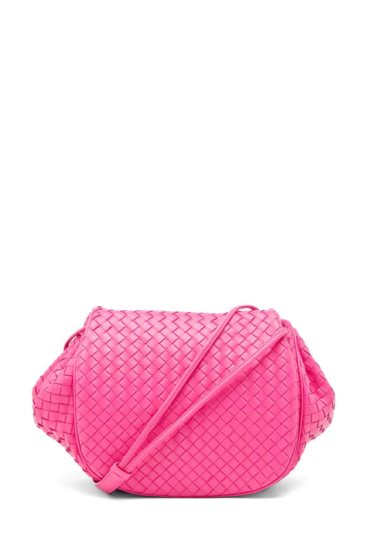 Image 1 of Bottega Veneta Side Bag in Pink