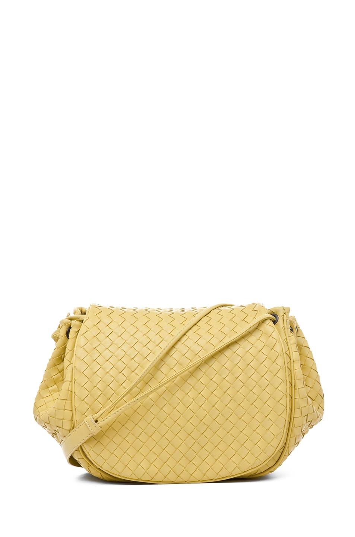 Image 1 of Bottega Veneta Messenger Bag in Citrus Yellow