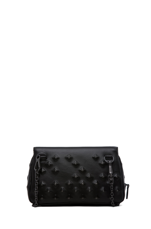 Image 2 of Bottega Veneta Nappa Stud Messenger Bag in Black