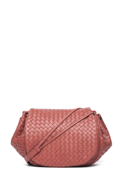 Image 1 of Bottega Veneta Messenger Bag in Red