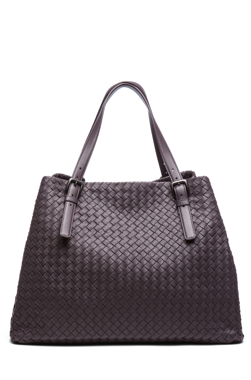 Image 1 of Bottega Veneta Large Tote Bag in Purple
