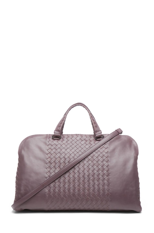 Image 1 of Bottega Veneta Large Handle Bag in Purple