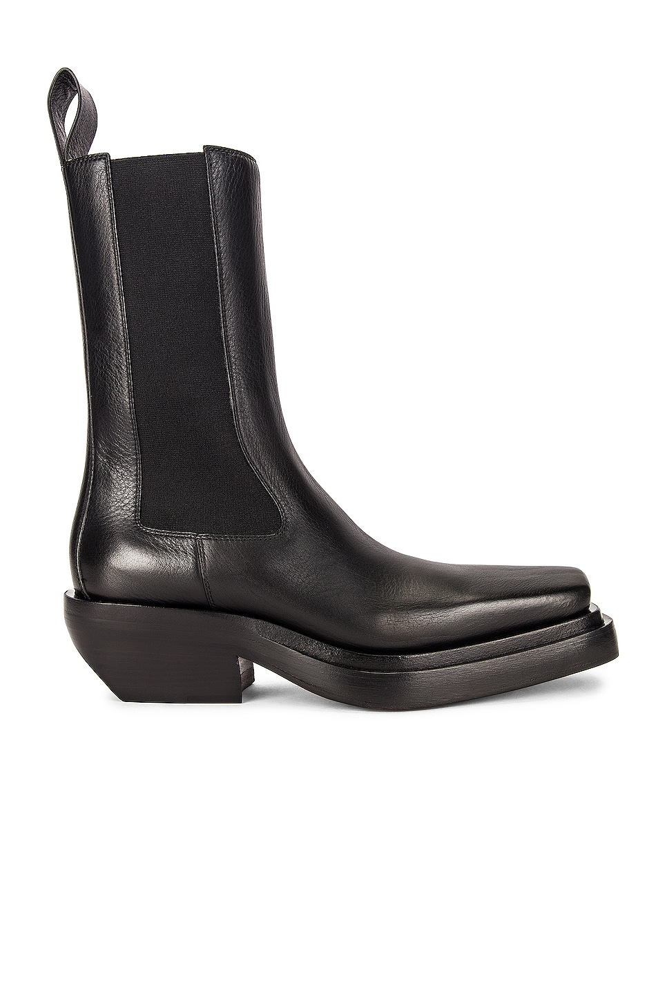 Image 1 of Bottega Veneta BV Lean Boots in Black