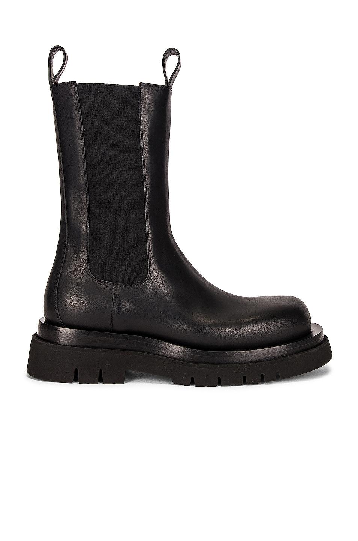Image 1 of Bottega Veneta The Lug Boots in Black