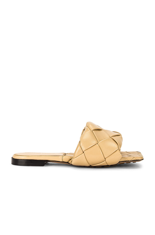 Image 1 of Bottega Veneta The Lido Sandals in Cane Sugar
