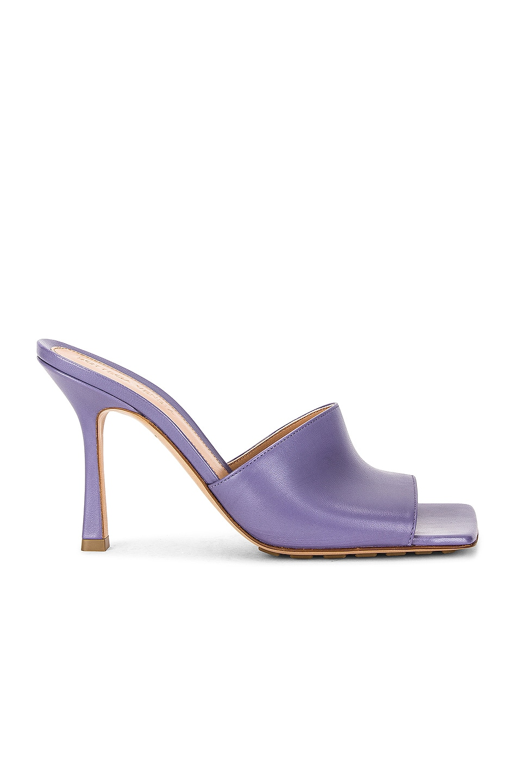 Image 1 of Bottega Veneta Stretch Mules in Lavender