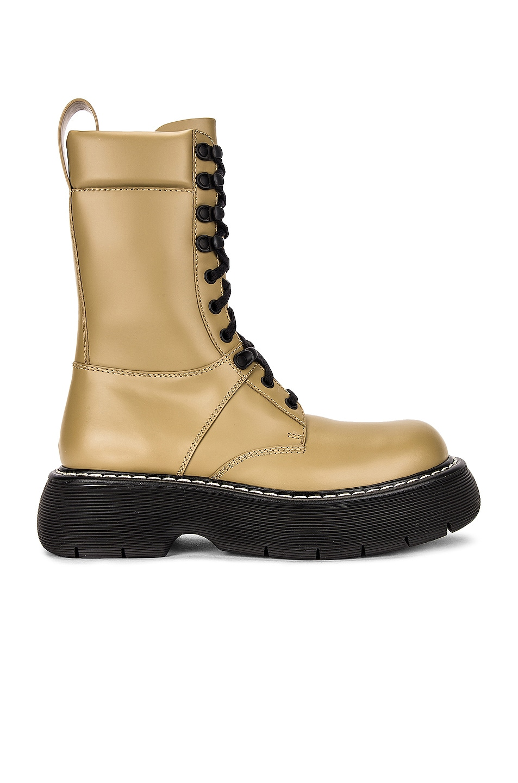 Image 1 of Bottega Veneta The Bounce Boots in All Spice & Black