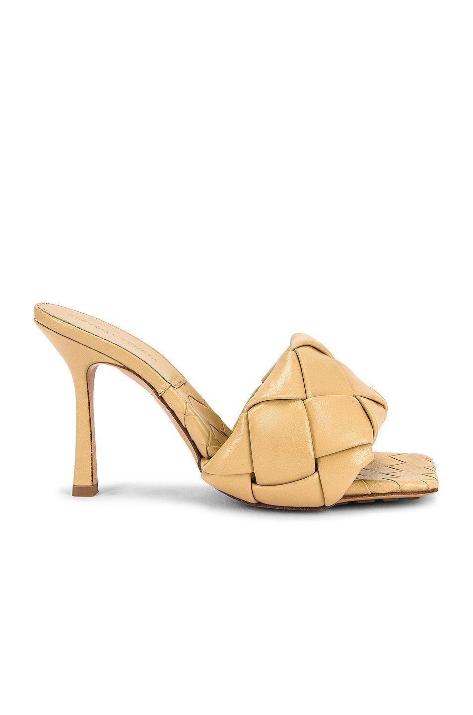 Image 1 of Bottega Veneta The Rubber Lido Sandals in Cane Sugar