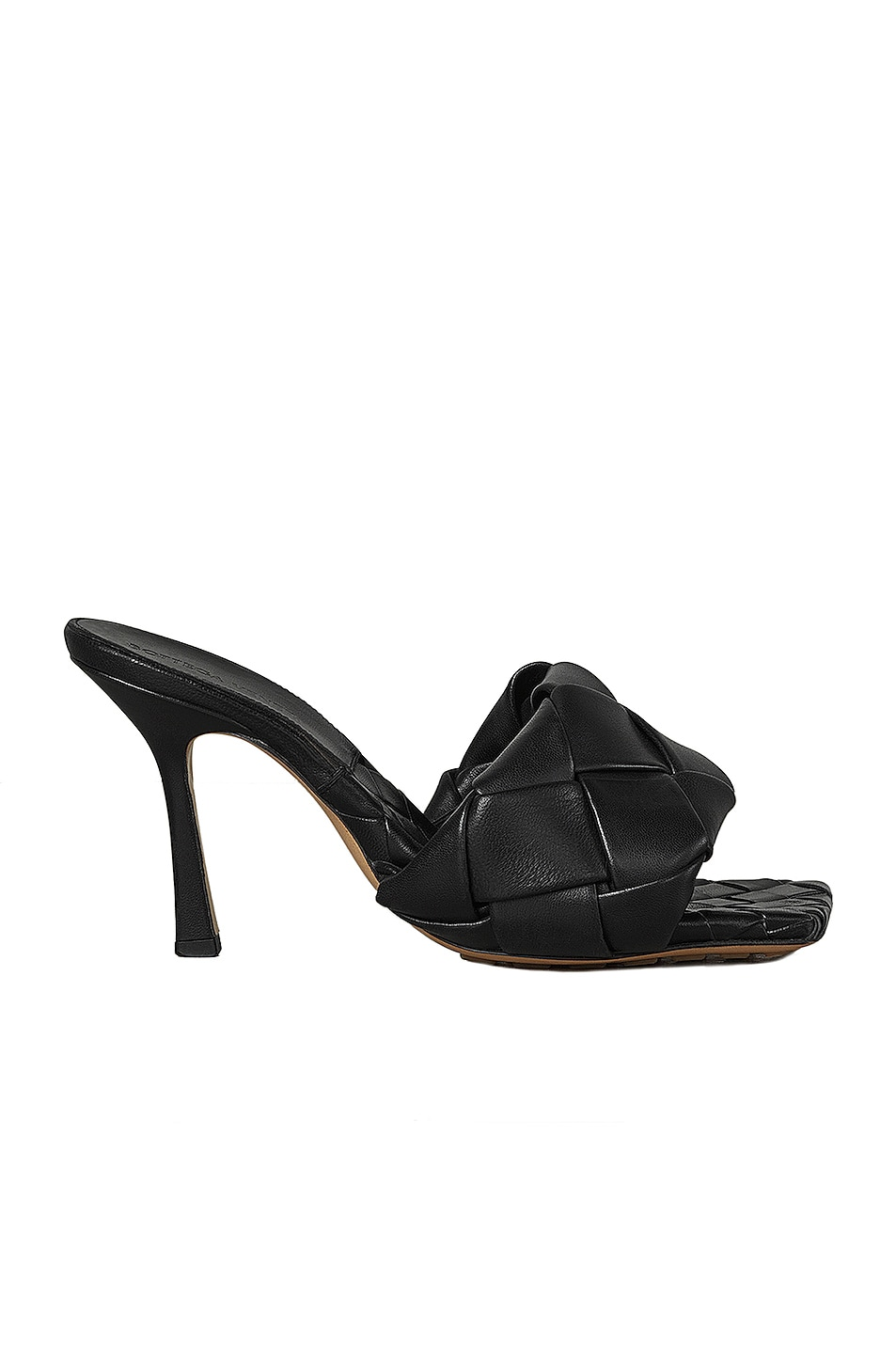 Image 1 of Bottega Veneta BV Lido Sandals in Black
